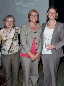 (From left), Laurene Heybach, Patricia Nix-Hodes and Beth Cunningham