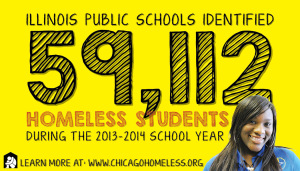 Homeless Students Sticker 2014