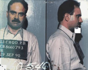 "Robert ""Bobby"" Dominic, a Chicago businessman long identified by law enforcement as a mob associate, is one of the operators of an SRO hotel seeking to amend the city's landlord-tenant ordinance. Dominic, 61, is shown here in an old Chicago Police Department booking photo"