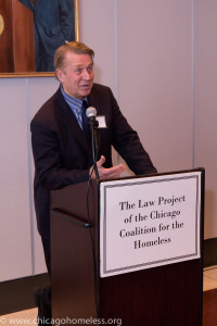Ed Shurna, executive director of the Chicago Coalition for the Homeless.