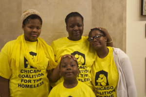Latoya Ellis and her family (Photo by Jennessa Martinez)