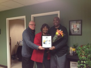 Organizing's Jim Field, Dollie Brewer and Wayne Richard