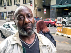 Chicago Coalition for the Homeless filed suit Tuesday against the city of Chicago on behalf of Robert Henderson in what is believed to be a first test of the state's Homeless Bill of Rights. | Mark Brown/Sun-Times
