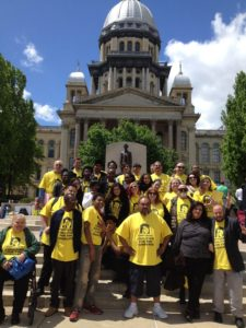 CCH leaders in Springfield on May 4, 2016. (Photo by Hannah Willage)