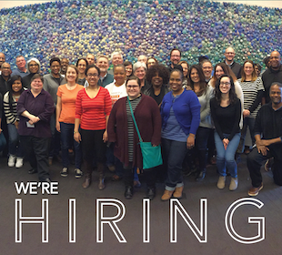 We're hiring! Join our organizing or development teams