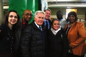 Martin Sheen with CCH staff and leaders