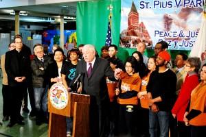 Gov. Quinn addresses Raise Illinois coalition (Shruti Sharma)