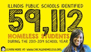 Homeless Students Sticker 2014