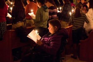 At the 2014 Homeless Memorial service