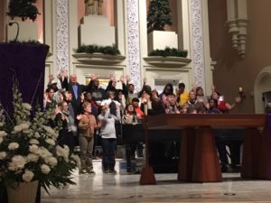 Harmony, Hope & Healing sings at the Dec. 19 memorial service.