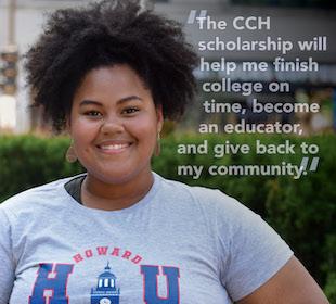 Alexandria Bolling starts her freshman year at Howard University