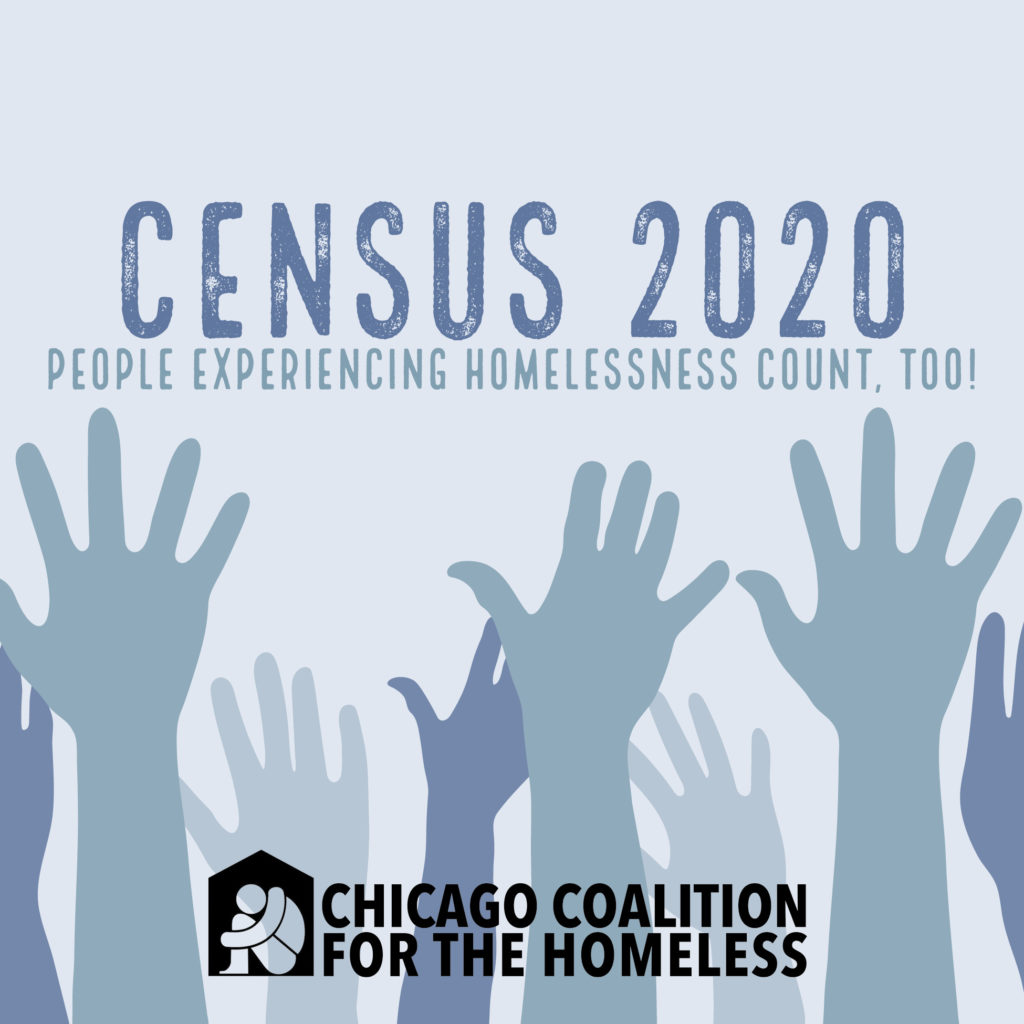 Census 2020: People experiencing homelessness count too!