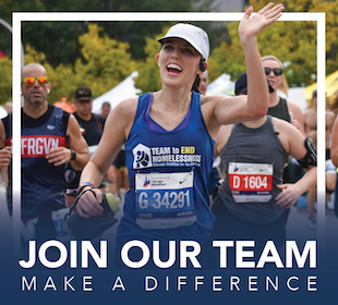 Sign up to run with our 2022 Team to End Homelessness